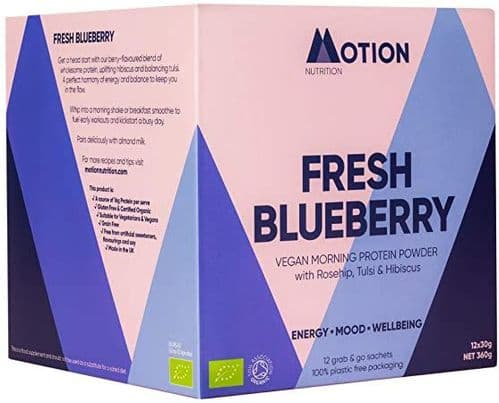 Motion Nutrition Fresh Blueberry Morning Protein 30g
